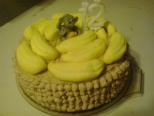 Banán izű torta