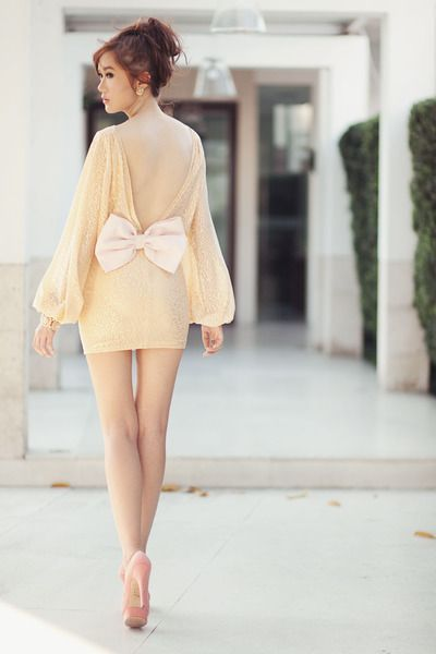 bow: Fashion, Bow Dresses, Style, So Cute, Dream Closet, Clothes, Outfit, Big Bows, Wear