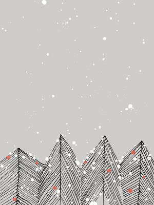 maybe something like this recolored to be more starry than snowy