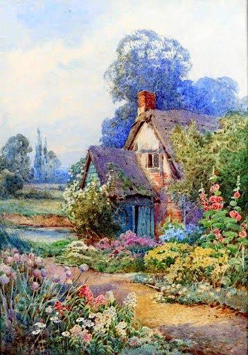 67 Best Cottage Art Images On Pinterest