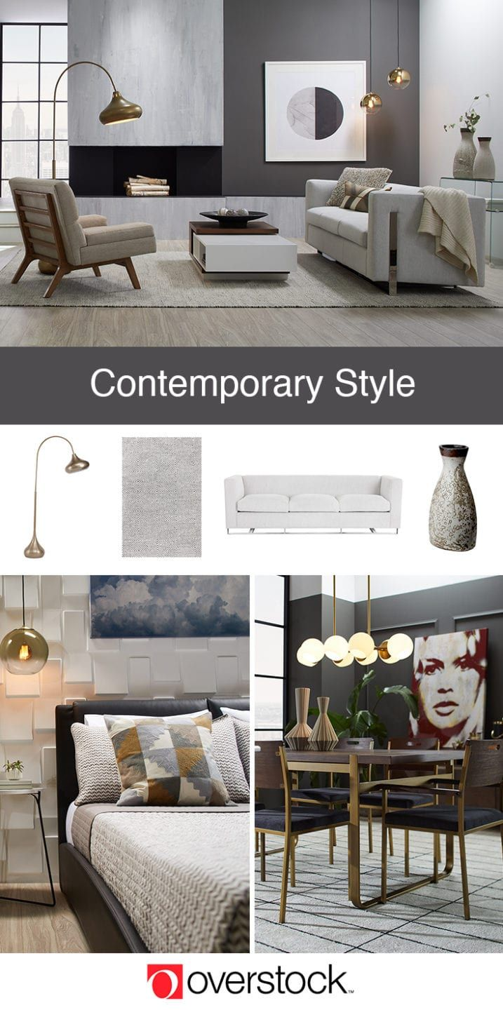 Contemporary Interior Design Ideas To Try At Home Overstock Com In 2020 Contemporary Interior Design Interior Design Living Room Furniture #overstockcom #living #room #furniture
