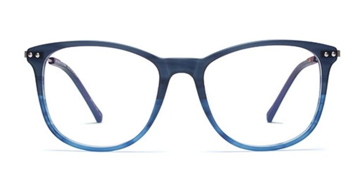 ANY PORT IN A STORM I A bigger version of our bestseller 70´s FLING - for guys or girls who want an over-sized look. Warm honey acetate front. Thin copper metal temple.