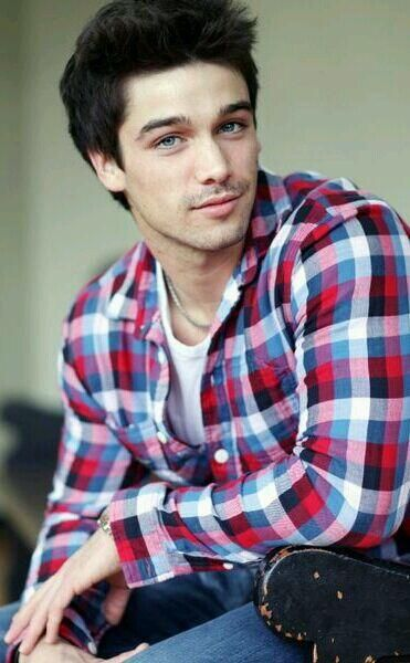 #shirt #stubble #eyes #blueeyes #eyebrows #stare #romannose #beautiful #beautifulmale #malemodel #halfsmile #cheekysmile
