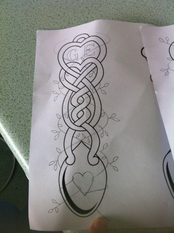 welsh love spoon design tattoo ideas pinterest welsh love and design. Black Bedroom Furniture Sets. Home Design Ideas