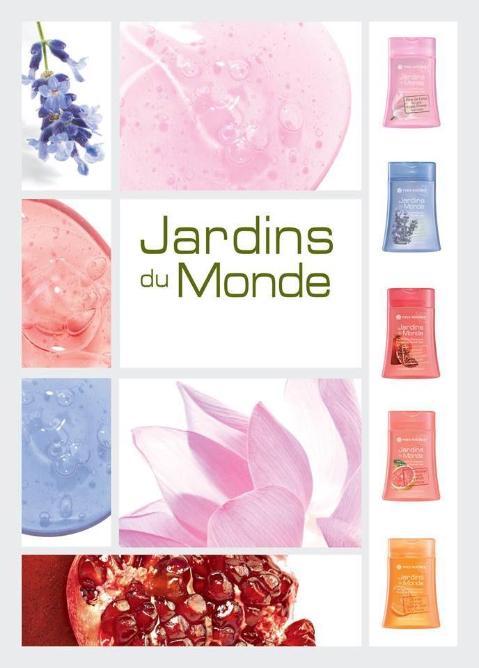 #jardins #Monde #showergel #yvesrochertr