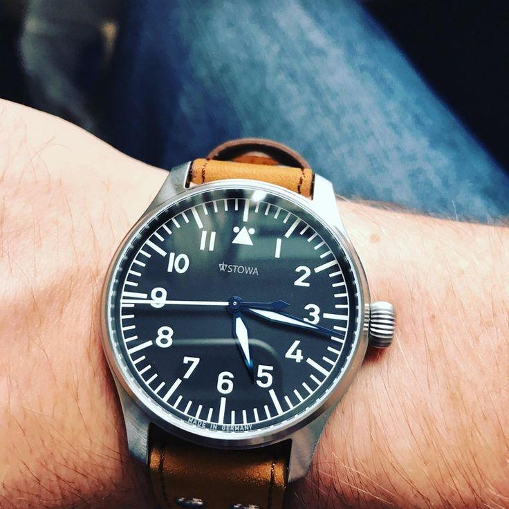 [Stowa] Flieger Klassik, new watch day. : Watches