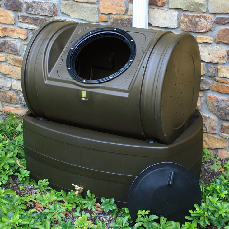 Composter and rain barrel in one