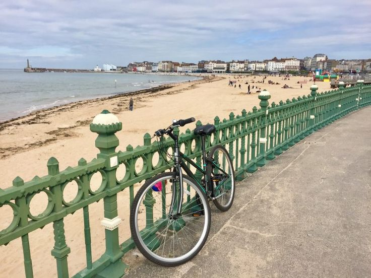 Cycling in Margate was lovely