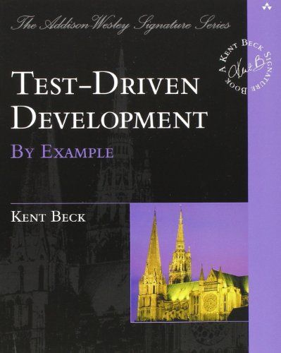 Test Driven Development: By Example by Kent Beck http://www.amazon.com/dp/0321146530/ref=cm_sw_r_pi_dp_Xudmvb1Q5DZVS
