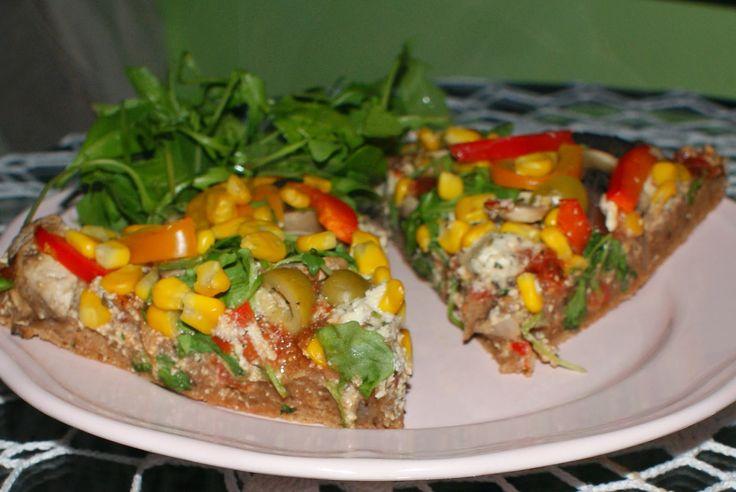 Roślinna : Wegańska pizza