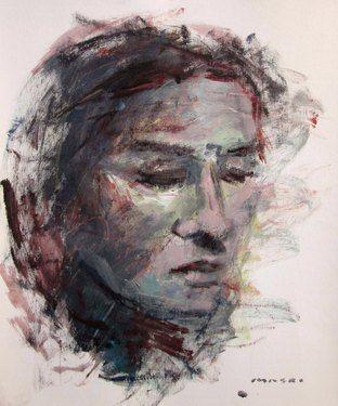 "Saatchi Online Artist Masri Hayssam; Painting, ""Houda"" #art"