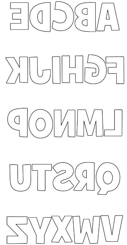 Free Printable Scrapbook Cutouts | Free Printable Block Upper Case Letters Using Grilled Cheese Font