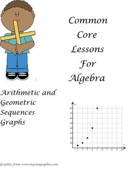 Arithmetic And Geometric Sequences Worksheet Algebra 2
