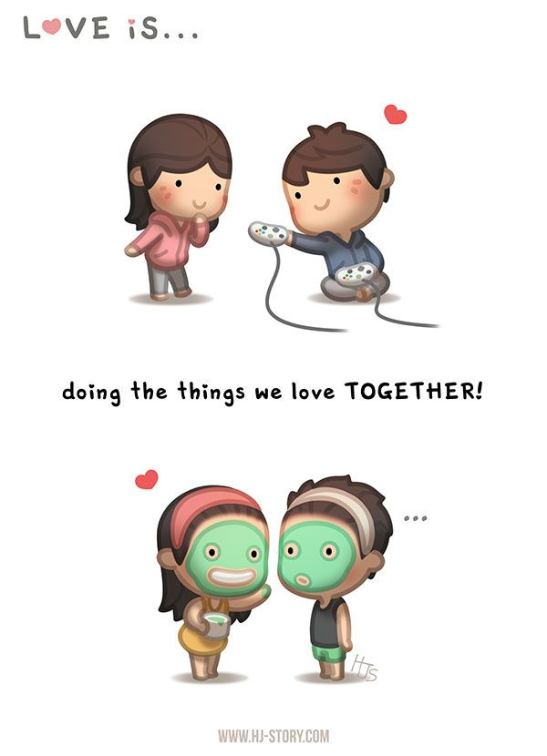 "Check out the comic ""HJ-Story :: Love is... Doing things together!"" http://tapastic.com/episode/110639"