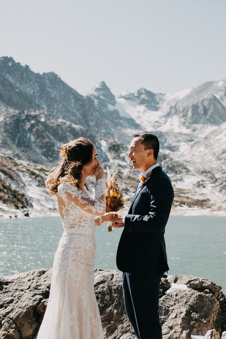 Colorado Rocky Mountain Elopement Lake Isabelle in 2020
