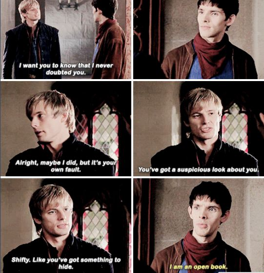 You can keep telling yourself that Merlin ;) hehe