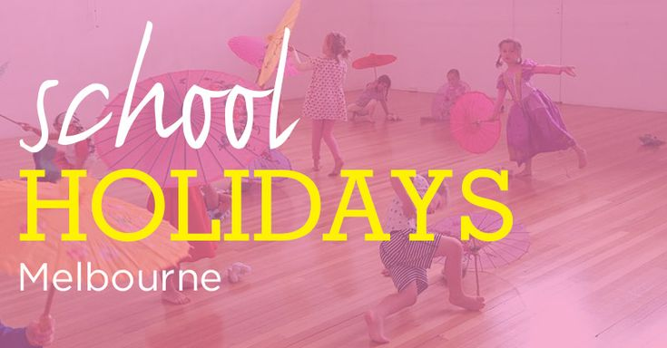 It might be winter, but chances are, your kiddo has a spring in their step because the Victorian school holidays are coming!But before theyburst out of the school gates, there's still time to plan some activities and practice your rendition of 'Let Me Entertain You'àla Robbie Williams. Although we can't help with the singing, activities …