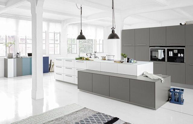 Fot. Projekt kuchni Loft, fronty z linii Soft Lack, Nolte Küchen