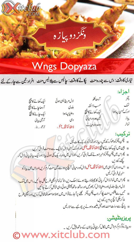 Wings Dp Pyaza - Delicious #Pakistani #Food #Recipe