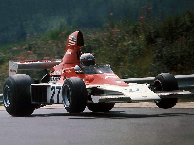 Mario Andretti, Parnelli-Ford VPJ4, 1975 German GP, Nürburgring