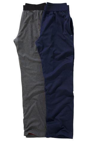 Набор из двух штанов (темно-синие/серые) - Покупайте прямо сейчас на сайте Next: Россия