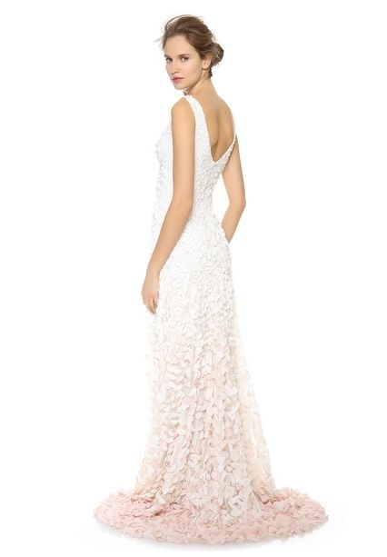 cherry blossom wedding gowns | Theia Cherry Blossom Emma Embroidered ...