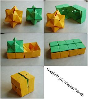 """Double star """"flexicube"""" by David Brill  directions here https://www.youtube.com/watch?v=HGjGR9DfWSI"""
