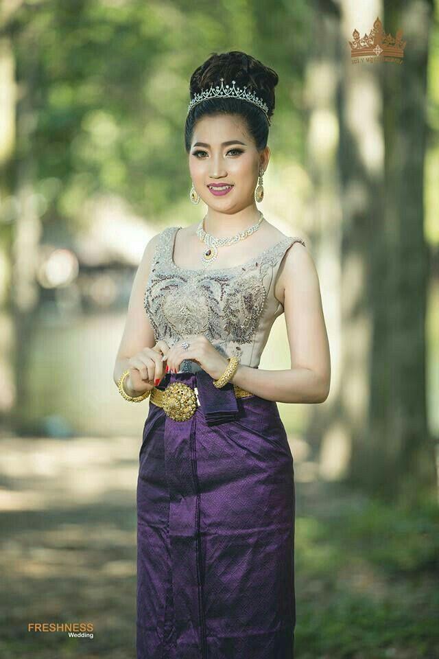 Khmer Traditional Wedding Dress