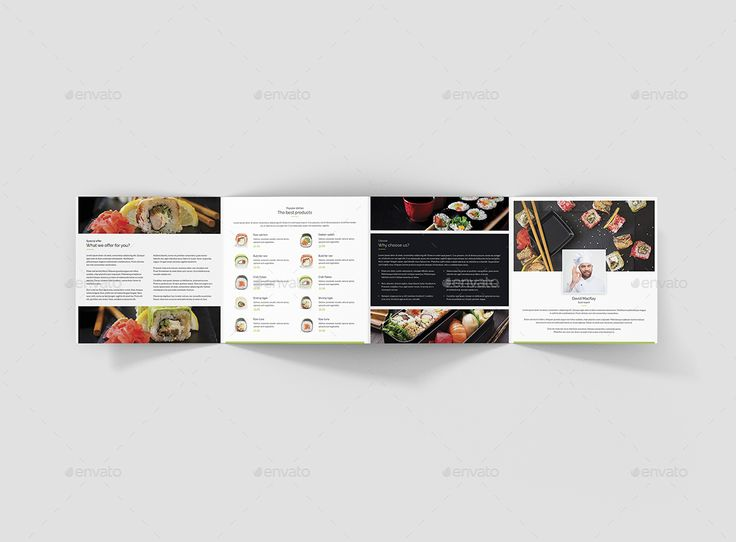 The  Best Restaurant Brochure Ideas On   Pacific Asia