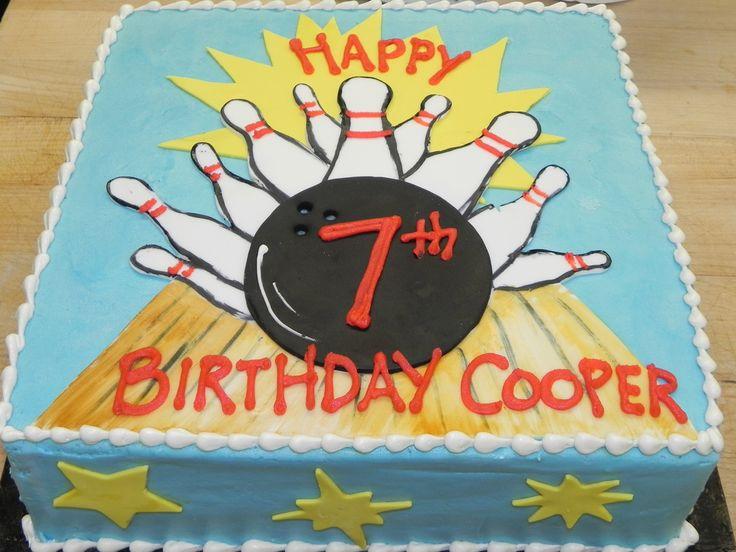 Bowling Birthday Cake | Flickr - Photo Sharing!                              …