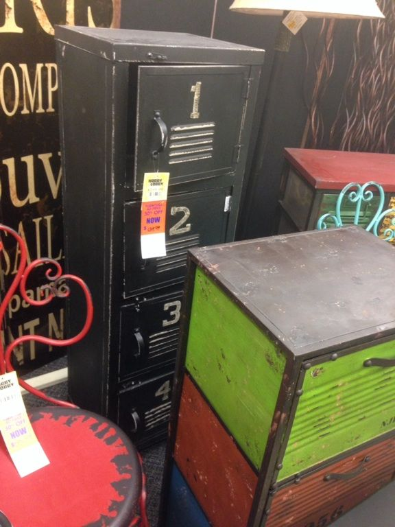 Cute locker furniture...Hobby Lobby. | Furniture Love ...
