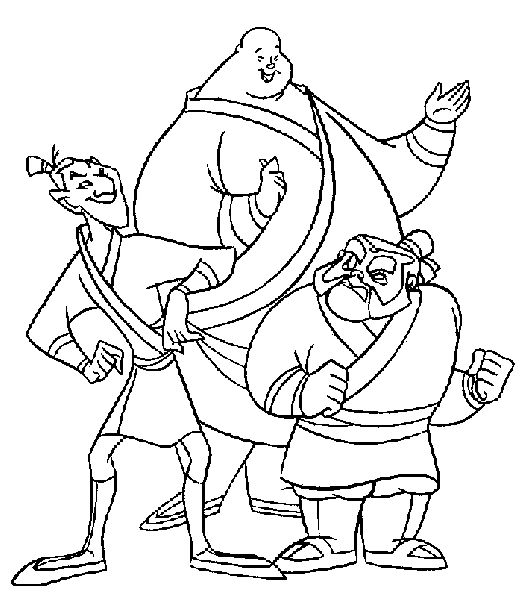 mulan coloring pages mulan coloring book pages kids coloring pages