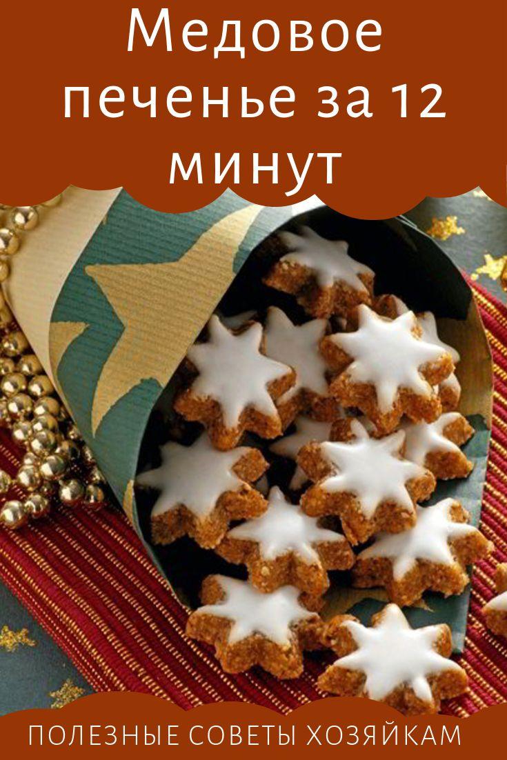 Honey Cookies in 12 Minutes