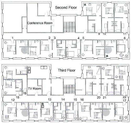 The Palmer House Hotel Floor Plans ⑥ ⌯ A̴ R̴ C̴ H̴