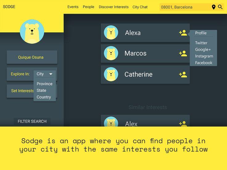 People finder  Design UpLabs