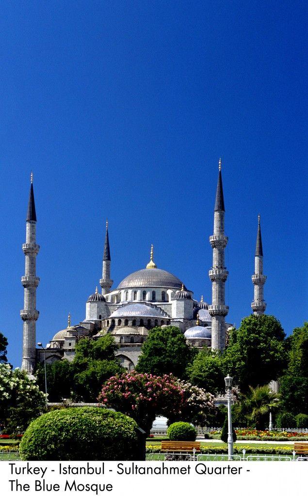 Turkey - Istanbul - Sultanahmet Quarter - The Blue Mosque, #istanbul