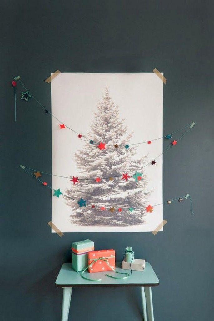 Baum Bild mit Kette