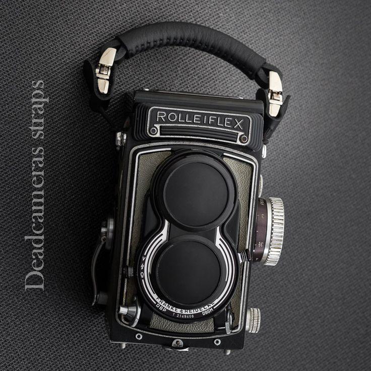 Deadcameras Hand strap & Rolleiflex T