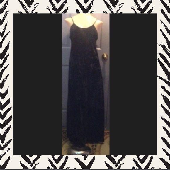 ⭐️BLACK VELVET FEEL STRETCHY DRESS⭐️ ⭐️BLACK VELVET FEEL STRETCHY DRESS⭐️ Anolitta Dresses
