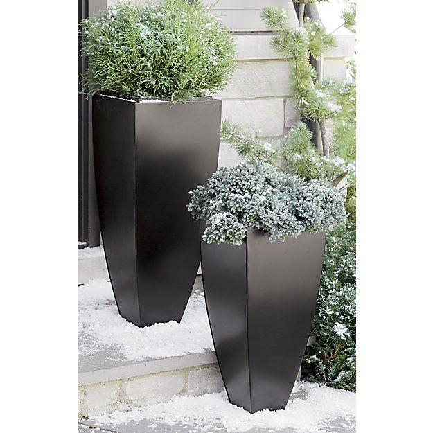 17 best images about planters on pinterest planters crate and barrel and zinc planters. Black Bedroom Furniture Sets. Home Design Ideas