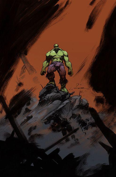 The Hulk by Yildiray Cinar