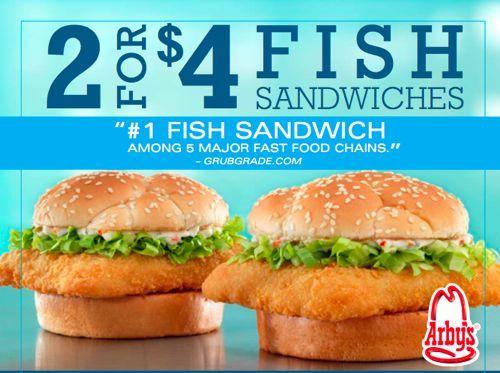 Arby's FISH SANDWICH!!! Wanna try 1/5/13