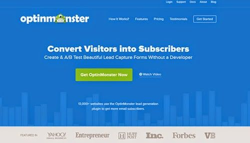Wordpress Plugin - OptinMonster v2.1.5a - Best Lead Generation Software for Marketers