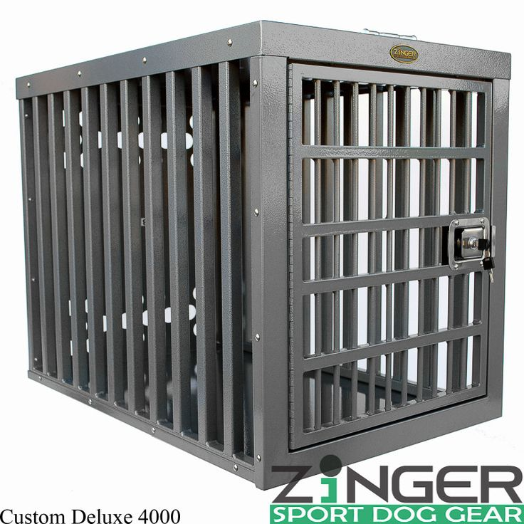 Zinger Heavy Duty Dog Crate-Heavy Duty Series – Heavy Duty Pet Crates #heavyduty #unescapable