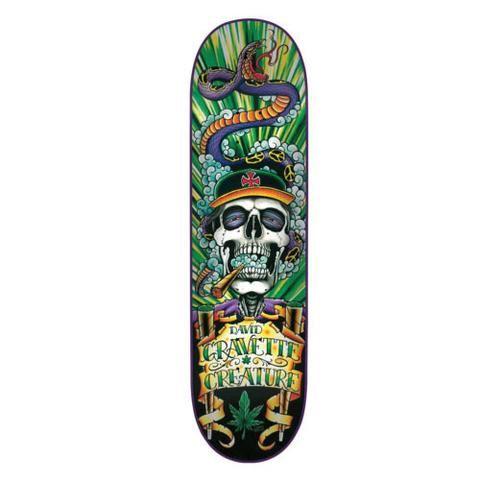 Creature Hippy Skull rullalauta- skeittikauppa.com