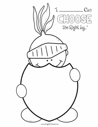 Choose the Right 2017 FREE Coloring Pages 1