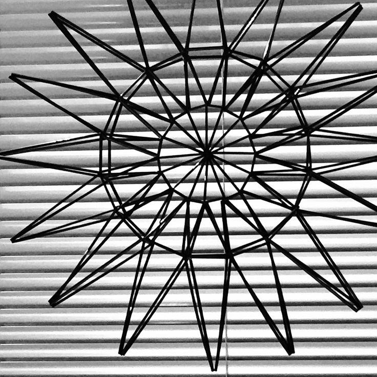 Sunflower Himmeli.