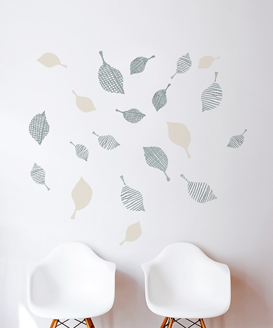Gray Strim Wall Decal