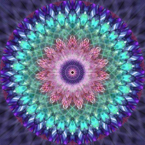 El mandala, palabra sánscrita cuyo significado literal es círculo. Es una representación simbólica y arquetípica del universo, según la antigua cosmología budista.