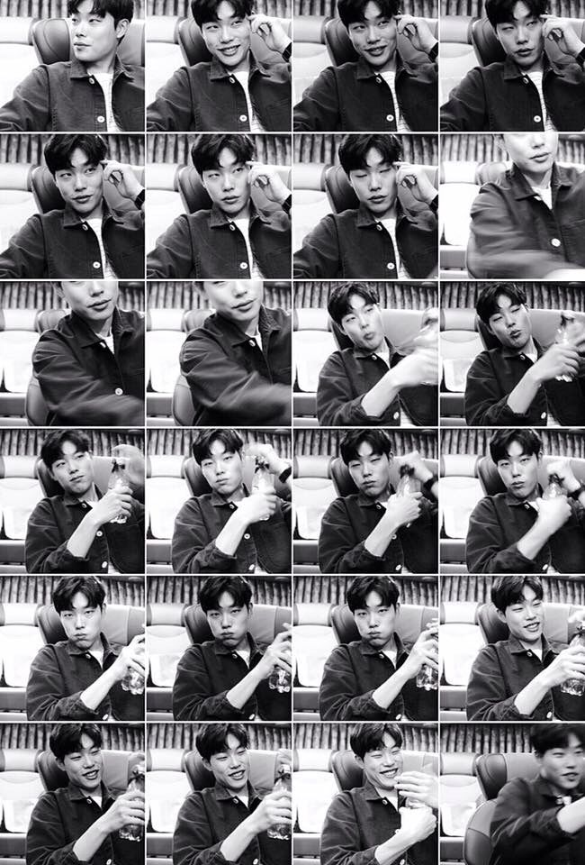 That's 24 Ryu Jun Yeols for you.  Cr. Ryu Jun Yeol FB 160402